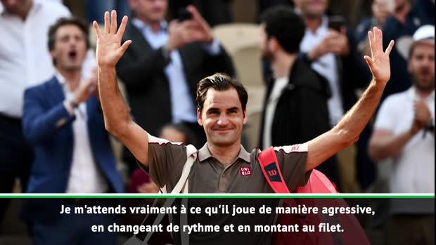 """Basket : Roland-Garros - Nadal pense déjà à Federer - """"Je m'attends à ce qu'il soit agressif"""""""