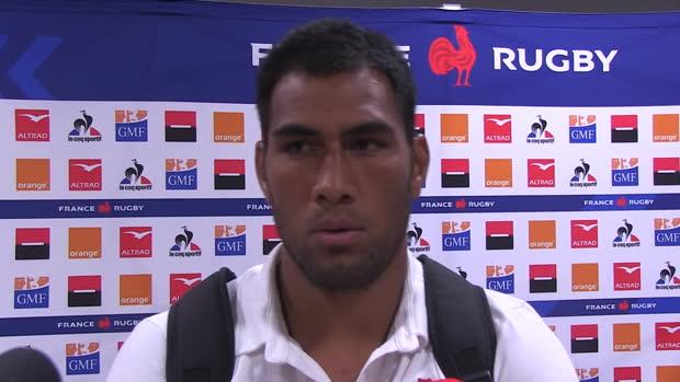"Rugby : XV de France - Vahaamahina - ""Ça fait vraiment du bien"""