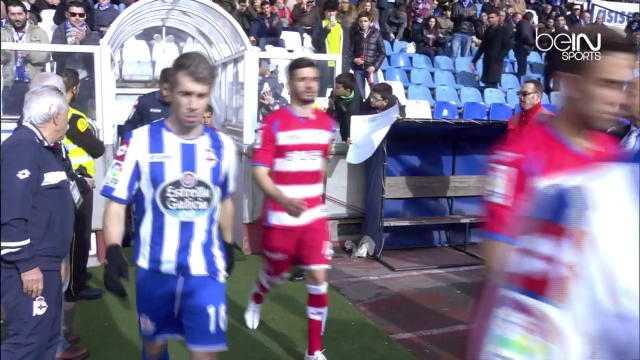 Liga : Deportivo 2-2 Grenade