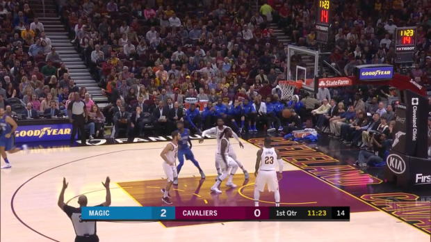 WSC: Orlando Magic with 17 3-pointers against the Cavaliers