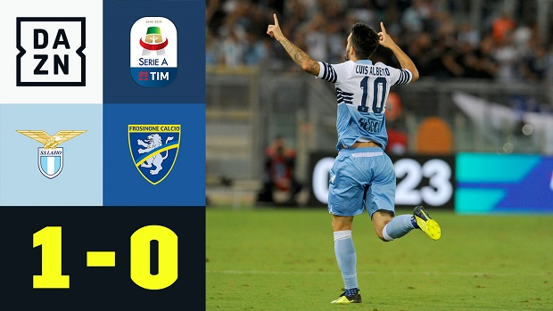 Serie A: Lazio - Frosinone | DAZN Highlights