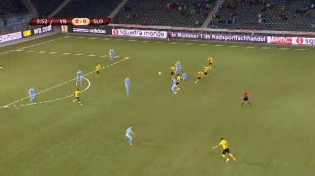 L.Europa : Young Boys 5-0 Slovan Bratislava