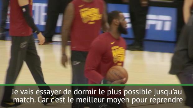 """Basket : NBA - Conf.Est - Match 7 - LeBron - """"La préparation commence dès maintenant"""""""