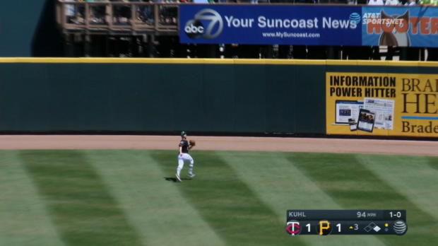 Cunningham's superb catch