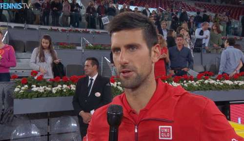 Djokovic Interview: ATP Madrid QF