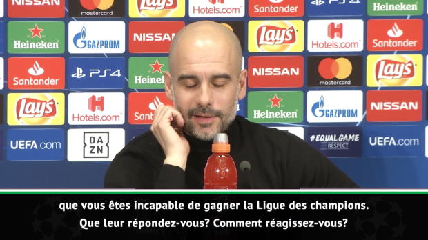 8es - Guardiola - 'À Barcelone, j'étais très chanceux'