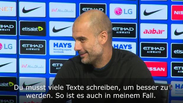 """Guardiola: Sterling? """"Große Persönlichkeit"""""""