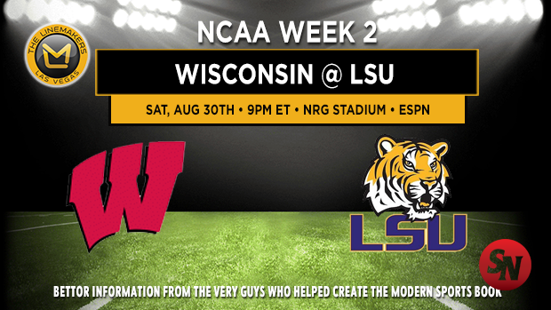 Wisconsin vs LSU