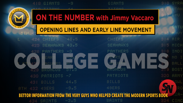 College Football Opening Lines and Early Movement