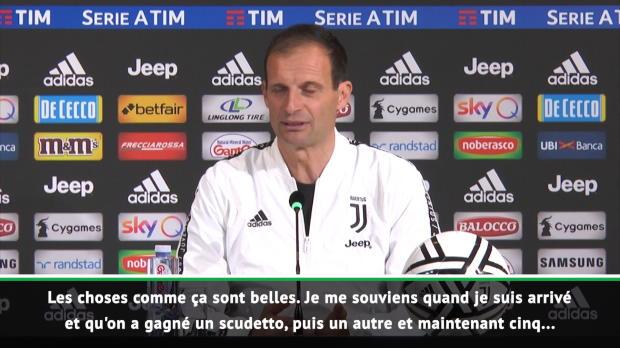 33e j. - Allegri savoure le sacre de la Juventus