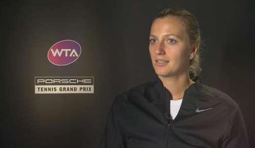 Kvitova Interview: WTA Stuttgart 1R