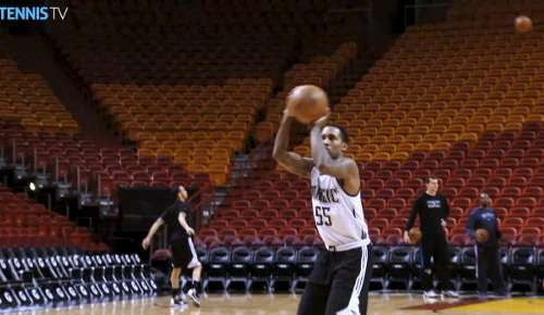 Tsonga Basketball Feature: ATP Miami
