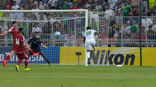 WM-Quali: Saudi mit Traum-Volley-Wuchtbrumme