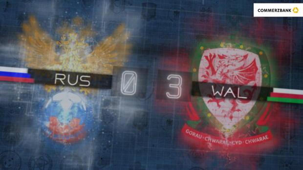 Fünf Fakten nach Russland gegen Wales
