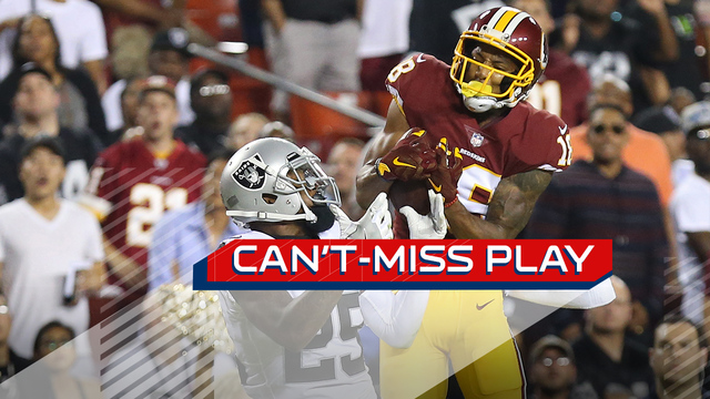 Can't-Miss Play: Josh Doctson MOSSES David Amerson for 52-yard touchdown