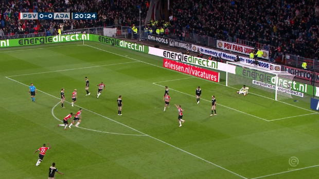 Pays-Bas - Le PSV étrille l'Ajax
