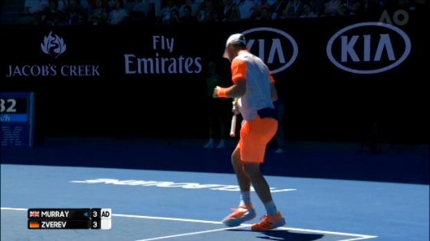 تنس: بطولة أستراليا المفتوحة: زفيريف يصعق موراي ويخالف التوقّعات والمنطق