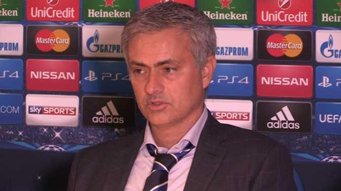 "LdC - Mourinho : ""Je suis frustré"""