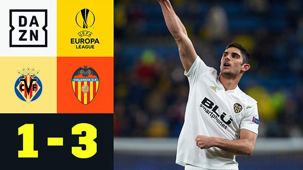 UEFA Europa League: Villarreal - Valencia | DAZN Highlights