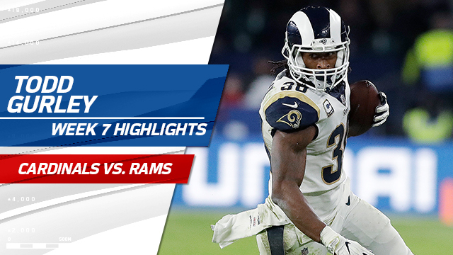 Los Angeles Rams RB Todd Gurley highlights | Week 7