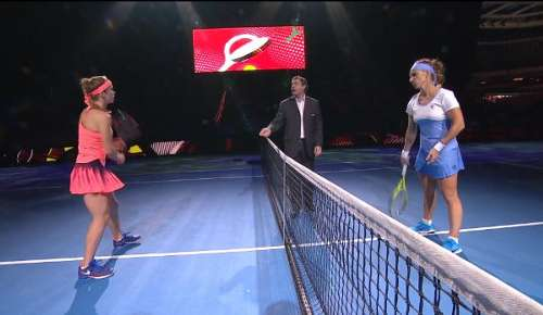 Kuznetsova v Svitolina Highlights: WTA Moscow SF