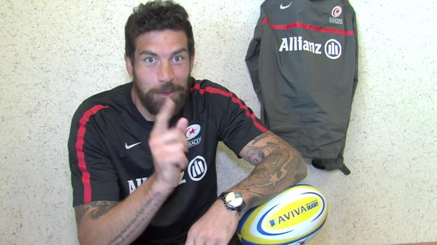 Aviva Premiership - Saracens' Jim Hamilton - Be an Aviva First Timer