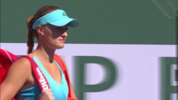 Highlights: Mladenovic - Wozniacki