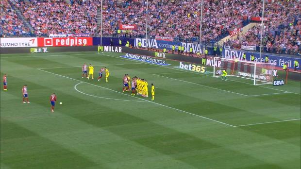 La Liga Round 1: Atletico Madrid 1-0 Las Palmas