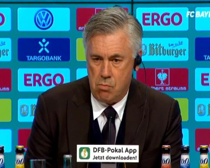 كرة قدم: كأس ألمانيا: إهدار مولر ركلة جزاء لم يشغل بال أنشيلوتي