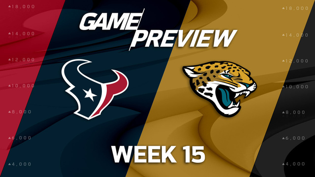 Houston Texans vs. Jacksonville Jaguars preview | 'NFL Playbook'