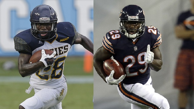 Tarik Cohen morphs from the 'Human Joy Stick' to NFL standout