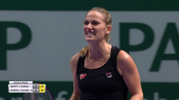 : Masters - Mladenovic et Babos en finale du double