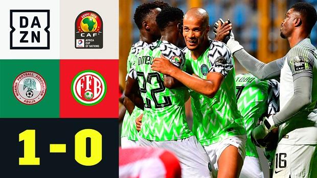 Afrika-Cup: Nigeria - Burundi | DAZN Highlights
