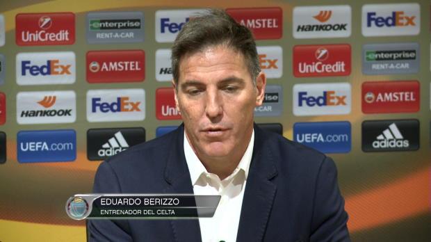 """Berizzo: """"Mis futbolistas han hecho realidad lo que era un sueño"""""""