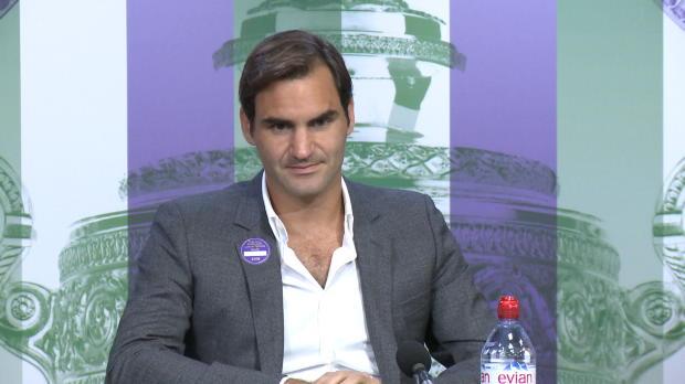 """Wimbledon: Federer fühlt sich """"unglaublich sexy"""""""