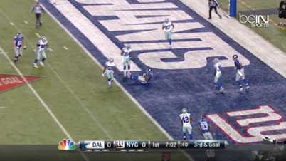 NFL : Cowboys 31-28 Giants