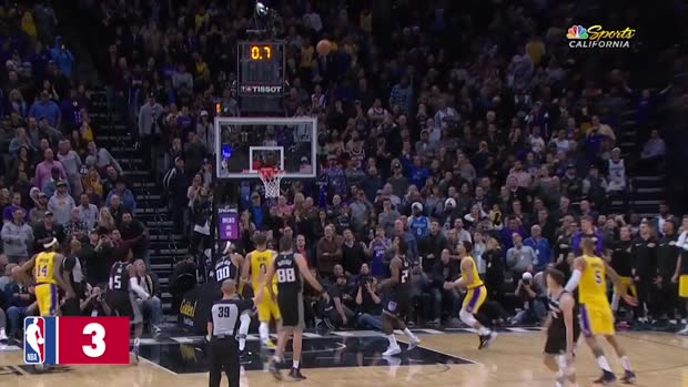 WSC: Top 3 Plays Sacramento Kings
