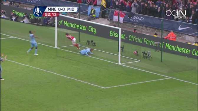 Manchester City encaisse un but gag