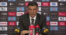 Roar coach John Aloisi was disappointed his side let their lead against City slip on Saturday night.
