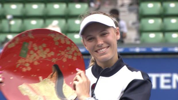 Tennis : Tokyo - Wozniacki conserve son titre