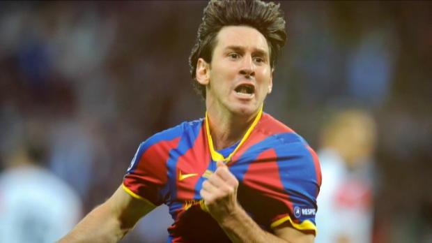 لقطة: كرة قدم: أهداف ليونيل ميسي الـ 500 مع برشلونة