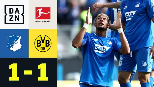 Bundesliga: TSG Hoffenheim - Borussia Dortmund | DAZN Highlights