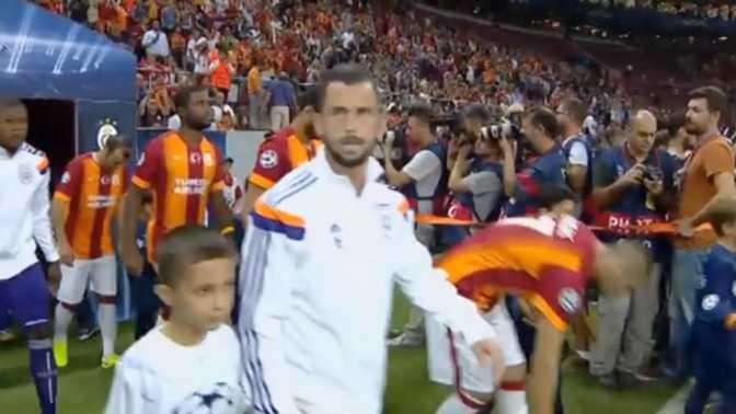 LdC : Galatasaray 1-1 Anderlecht