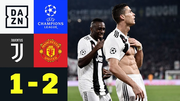 UEFA Champions League: Juventus - Manchester United   DAZN Highlights
