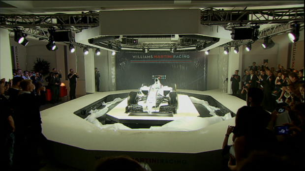 Williams officially unveil 2014 car