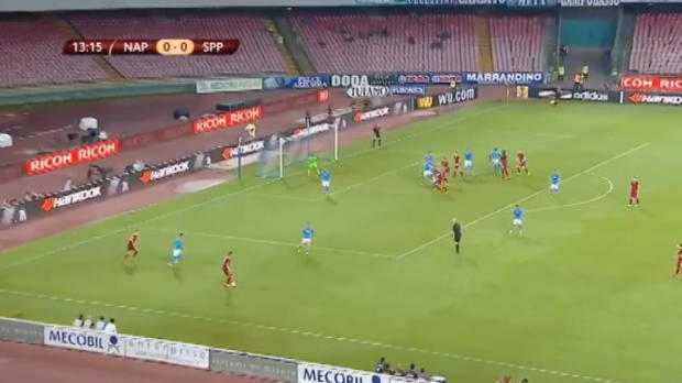 L.Europa : Naples 3-1 Sparta Prague