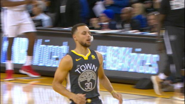 44 Punkte! Curry mal wieder Matchwinner