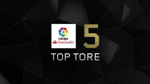 Top5: Messi und CR7 ballern um die Wette