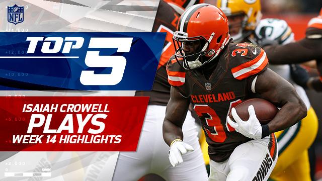 Top 5 Isaiah Crowell runs | Week 14