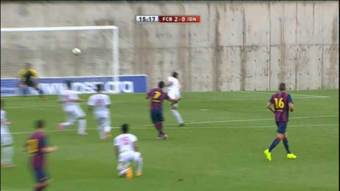Barça - Suarez et Vermaelen buteurs